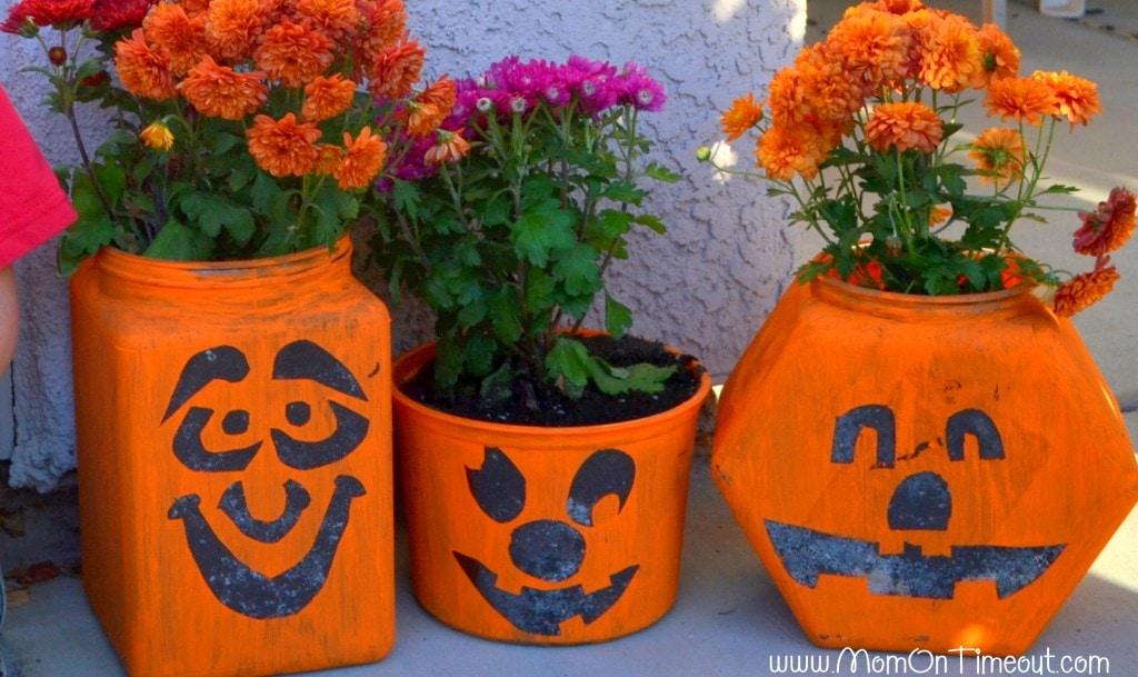 Pumpkin Planters