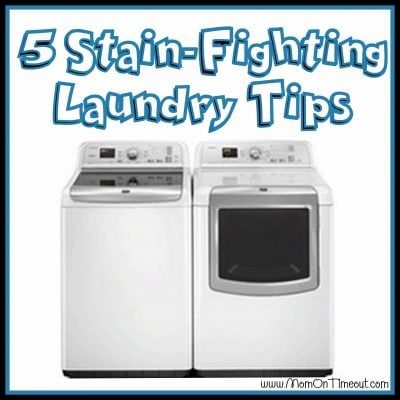 5 Stain-Fighting Laundry Tips