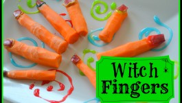 Healthy Halloween Snack: Witch Fingers {Recipe}