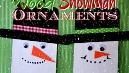 03-Popsicle Stick Snowman Ornaments