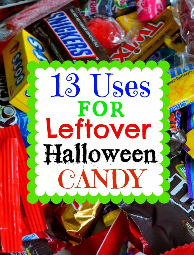 13 Uses For Leftover Halloween Candy