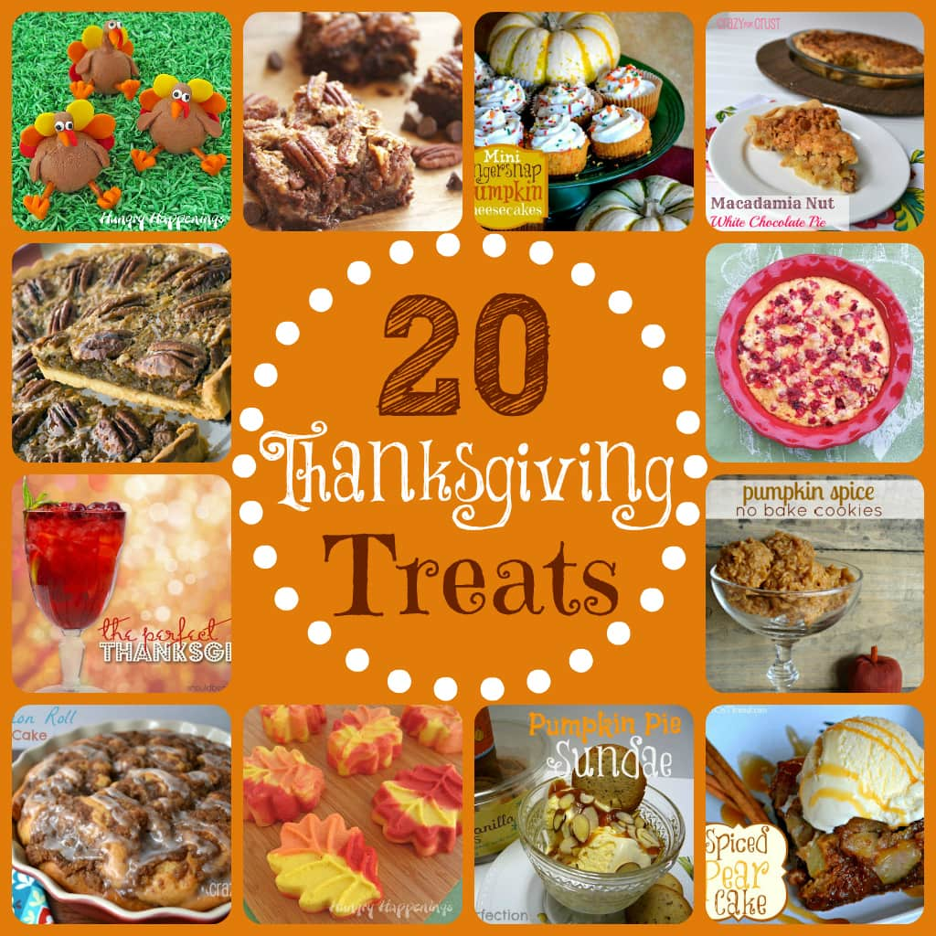 20 Thanksgiving Treats | MomOnTimeout.com