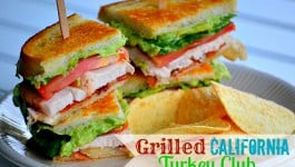 Grilled California Turkey Club