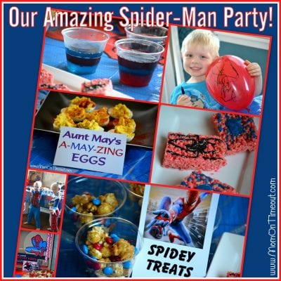 Our Amazing Spider-Man Party!