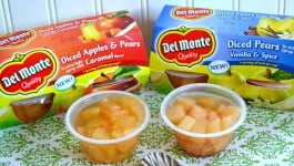 Smart Snacking with Del Monte Fruit Cups