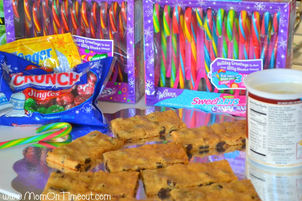 Chocolate Chip Cookie Sleds Supplies