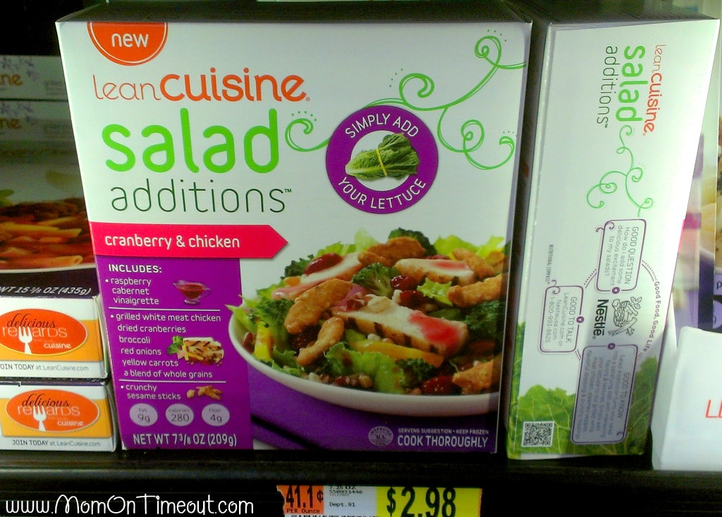 Lean Cuisine Salad Additions in store #BYOL