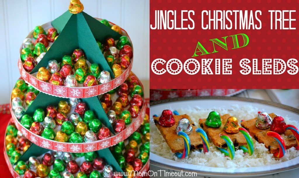 Jingles Christmas Tree and Cookie Sleds | MomOnTimeout.com