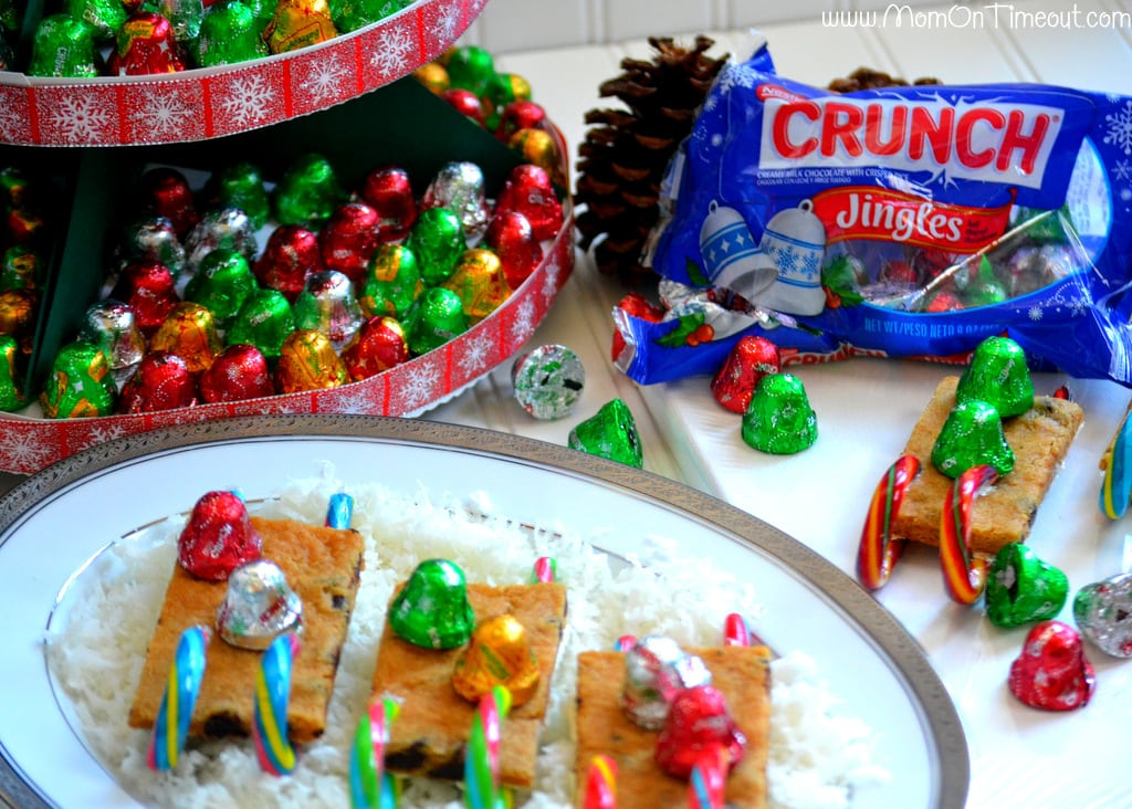 Jingles Christmas Tree Hostess Gift and Cookie Sleds #HolidayCandy