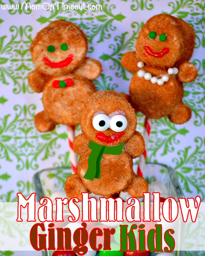 Marshmallow Ginger Kids | MomOnTimeout.com