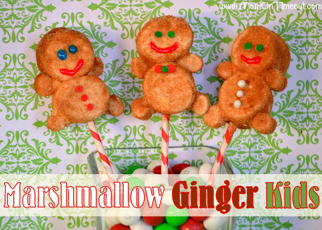 Marshmallow Ginger Kids | MomOnTimeout.com