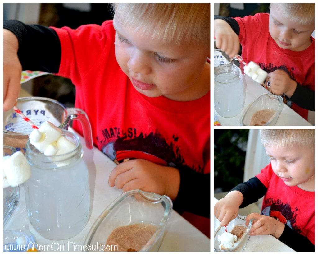 Marshmallow Ginger Kids Step 3