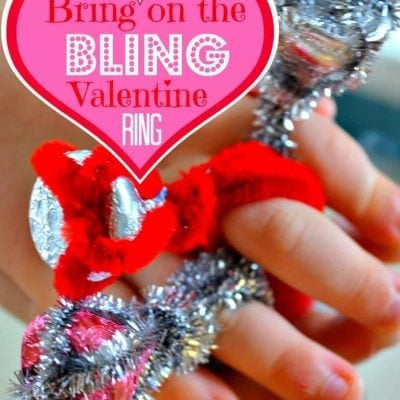Bring On The Bling Valentine Ring {Craft Tutorial}