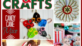 Candy Cane Crafts and Recipes