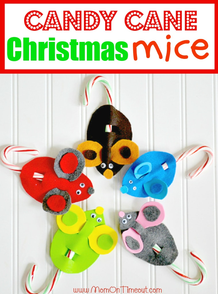 These adorable and easy Candy Cane Christmas Mice are sure to become a holiday tradition! Super fun to make, kid-friendly, and only requires a few, easy-to-find, craft items. Let your kid's creativity run wild and have a Merry Christmas!