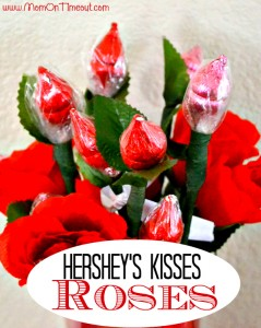 Hershey's Kisses Roses Craft