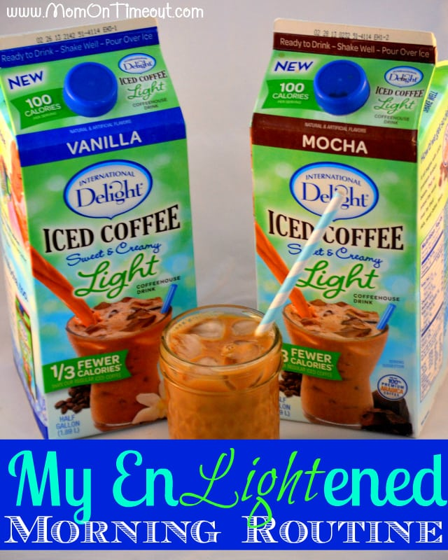 My Enlightened Morning Routine International Delight #LightIcedCoffee