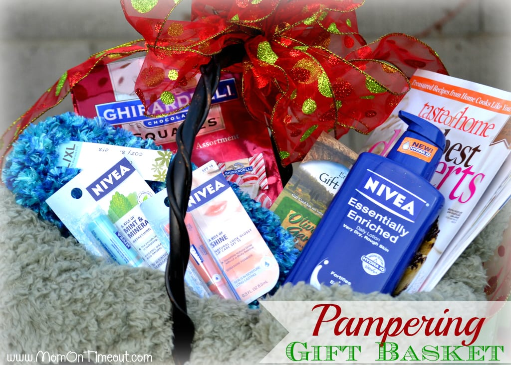 Pampering Gift Basket #NIVEAMoments