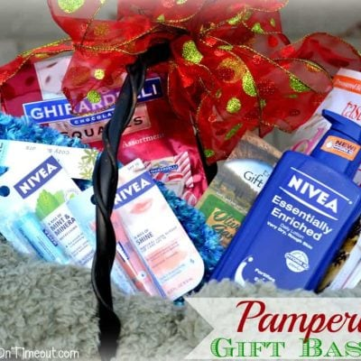 Holiday Pampering Gift Basket Idea
