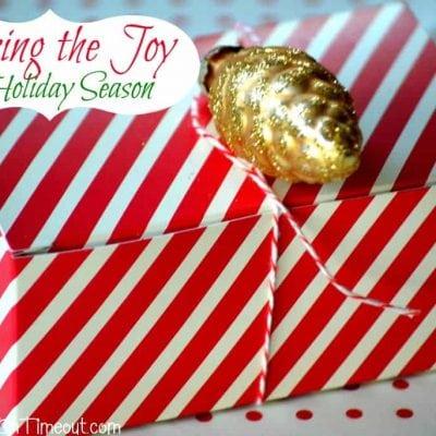 Sharing the Joy this Holiday Season