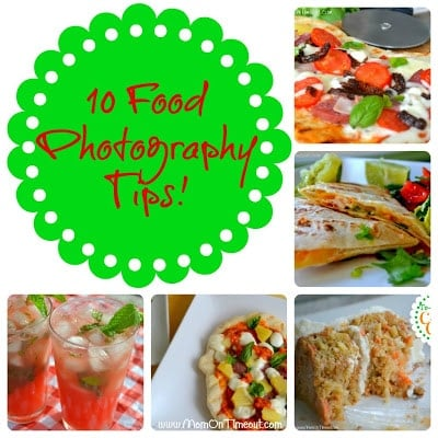 Ten Food Photography Tips