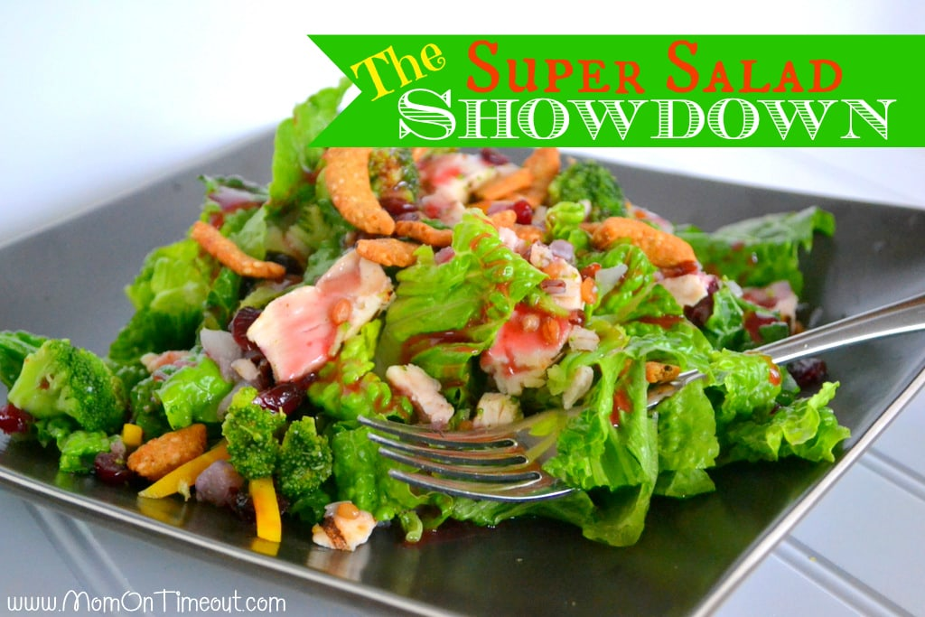 The Super Salad Showdown #BYOL