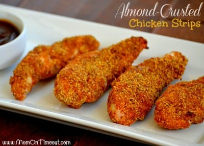 Almond-Crusted Chicken Strips Recipe