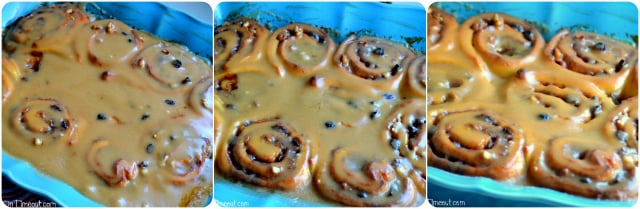 Overnight} Caramel Pecan Cinnamon Rolls - Mom On Timeout