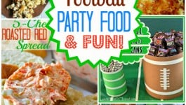 Football Party Food and Fun