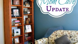 Mom Cave Update and La-Z-Boy Pinterest Contest