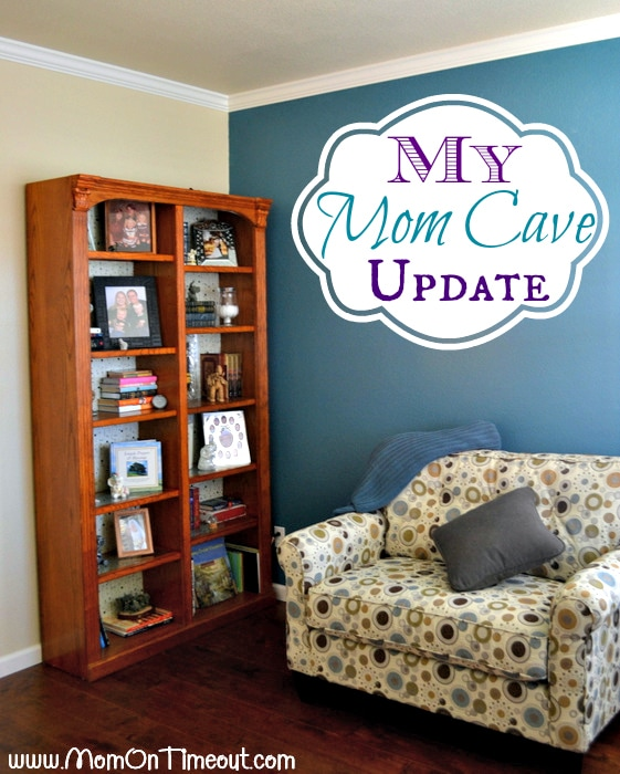 Mom Cave Update and La-Z-Boy Pinterest Contest - Mom On Timeout