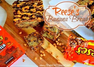 Reeses Banana Bread