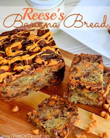 Reese's Banana Bread