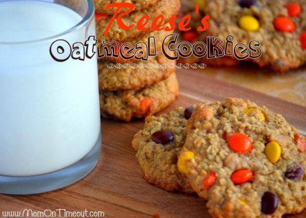 Reese's Easy Freezer Friendly Oatmeal Cookies