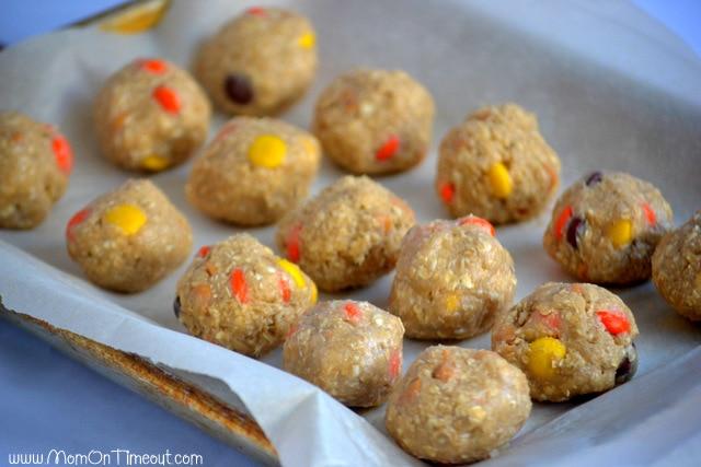 Reese's Freezer Friendly Oatmeal Cookies Flash Freeze