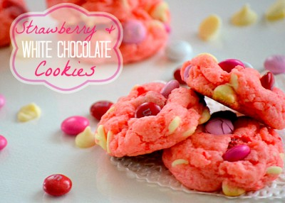 Strawberry Cookie Recipe