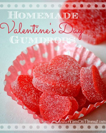 Valentine's Day Gumdrops Homemade