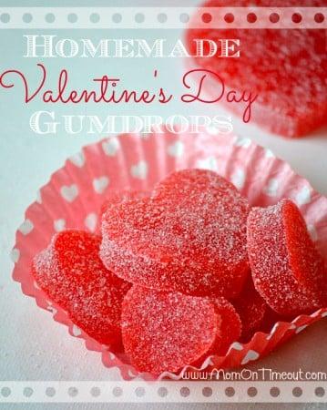 Valentine's Day Gumdrops Homemade