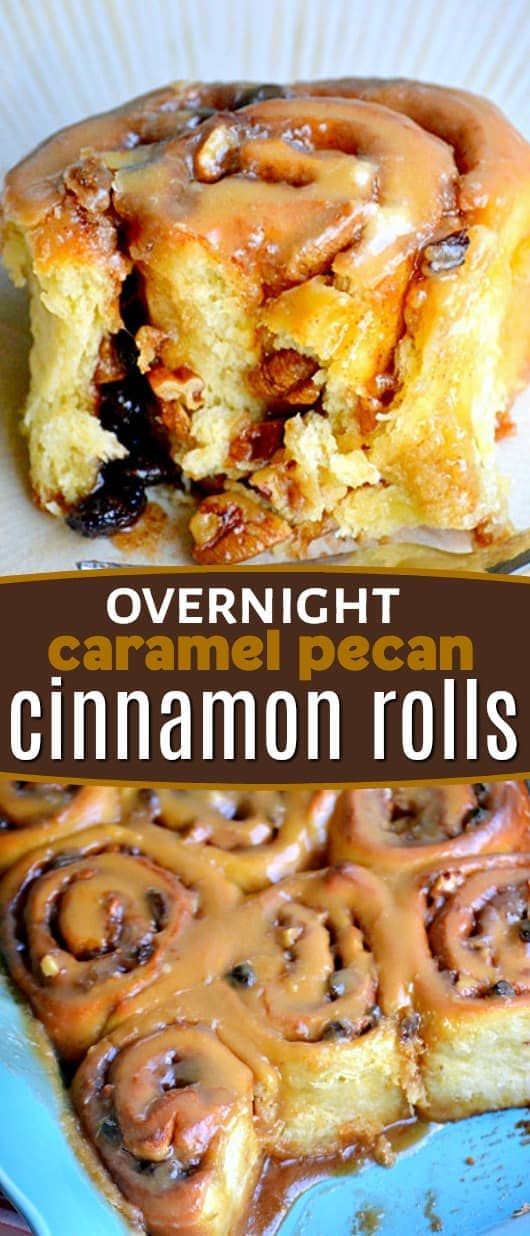 caramel-pecan-cinnamon-rolls-collage