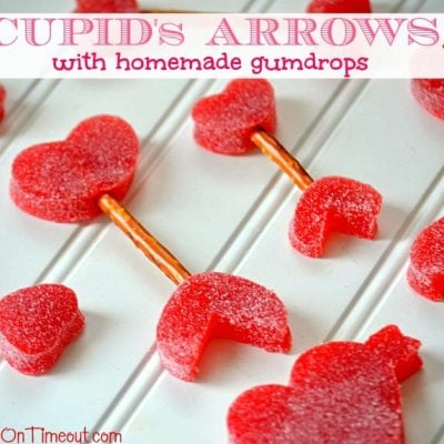 Cupid's Arrows {with Homemade Gumdrops}