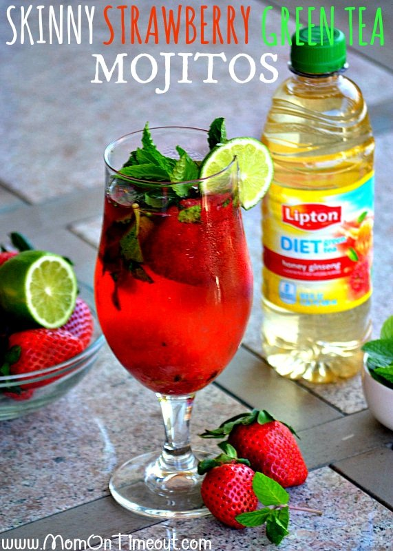 Skinny-Strawberry-Lipton-Green-Tea-Mojitos-Recipe