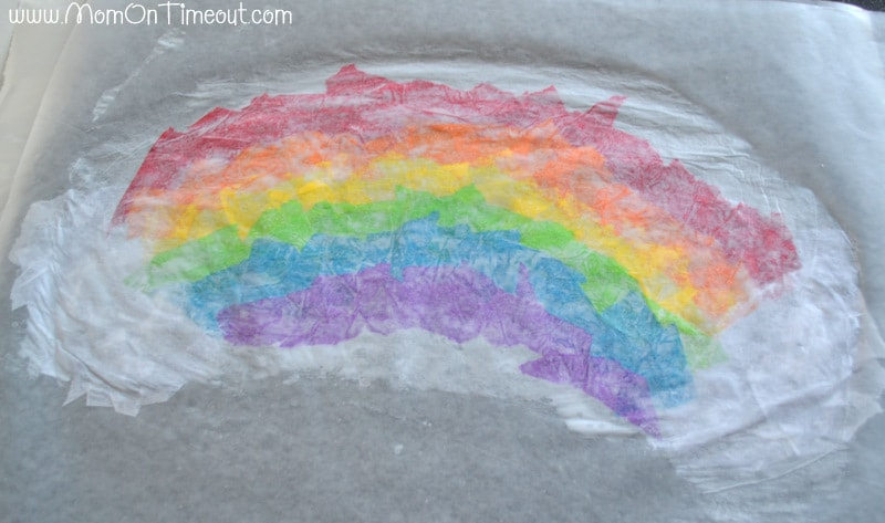 Stained Glass Rainbow Craft Mom On Timeout