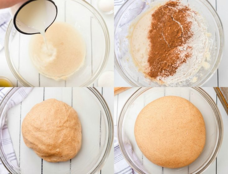 how to make cinnamon bread collage with dough