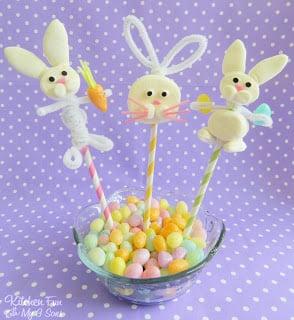 EasterBunnyMarshmallowPops