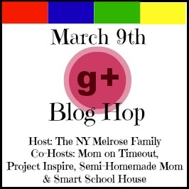 Time for a Google+ Blog Hop!