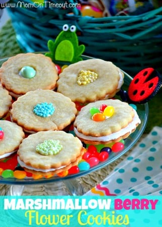 Marshmallow-Berry-Flower-Cookies-Recipe
