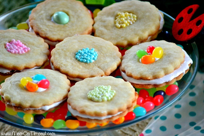 Marshmallow-berry-cookies