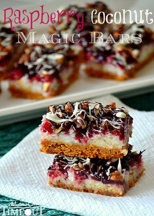 Raspberry-Coconut-Magic-Bars-Recipe-with-chocolate-drizzles