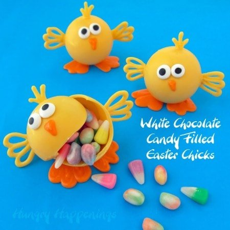 White Chocolate Chicks, homemade Easter chocolates, Easter candy recipes, Easter chocolate, candy chick, 2