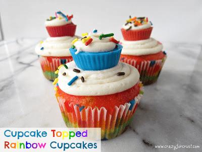 cupcake-topped-rainbow-cupcakes
